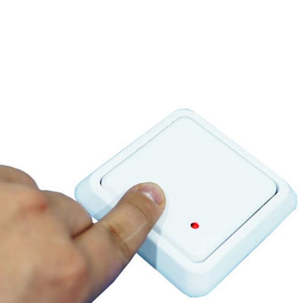 botón inalámbrico